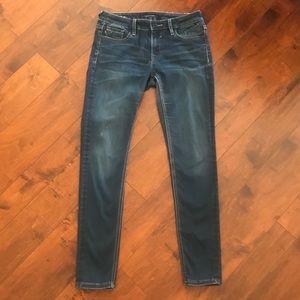 Vigoss Studio Med Wash Stretch Jeans, W 28 L 31